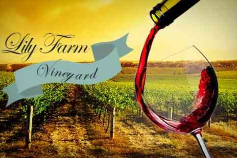 Lily Farm Vineyard - Wine Tasting Tour For Two - Save 50%
