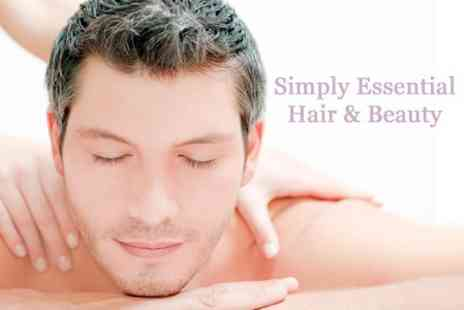 Simply Essential Hair and Beauty - One Hour Sports or Deep Tissue Massage - Save 50%