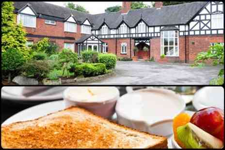 Chimney House Hotel - Cheshire One Night 4 Stay For Two With Breakfast - Save 54%