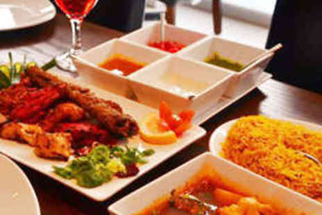 Bollywood Masala - Starter, Main Course, and Wine Each for Two People - Save 60%