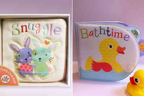 Parragon Books - Easter Themed Baby Books for Bath and Bed Time - Save 43%