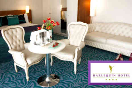 Harlequin Hotel - Two Night Stay for Two - Save 50%