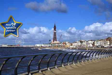 Henson Hotel - Two Night Blackpool break for two, including breakfast and a bottle of wine on arrival - Save 52%