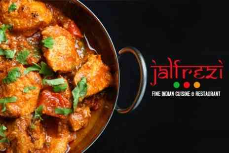 Jalfrezi - Two Course Indian Meal With Sides For Two - Save 58%