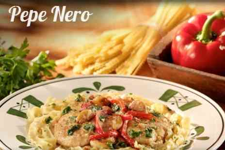 Pepe Nero - Two Course Italian Meal With Coffee For Two - Save 53%