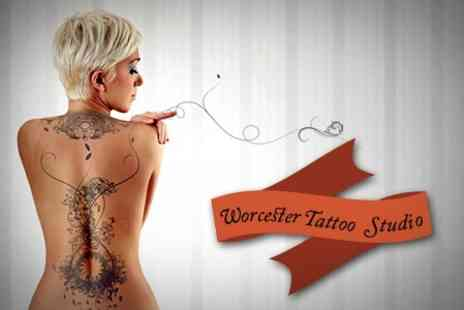 Worcester Tattoo Studio - Three Laser Tattoo Removal Sessions on a Small - Save 61%