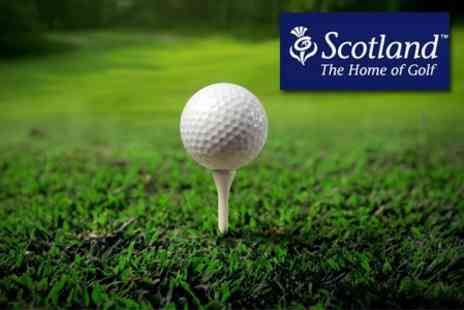 The Scottish Golf Show - Ticket Plus Three Rounds of Golf and Johnnie Walker Championship Pass - Save 50%