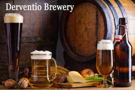 Derventio Brewery - Two to three hour tour of historic microbrewery for two Includes introduction talk - Save 50%