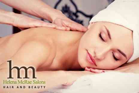Helena McRae - Massage and Body Pamper Package Wrap - Save 50%