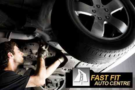 Fast Fit Auto Centre - Car Service Including Oil and Filter Change - Save 70%