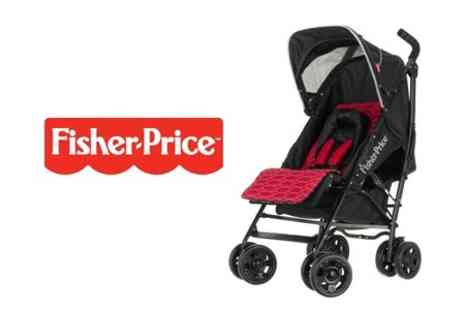 PeekaBooBaby - Fisher Price Safe Voyage Deluxe Stroller - Save 34%