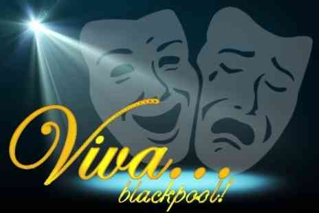 Viva Blackpool - Three Course Meal and Gold Circle Seating For One - Save 53%