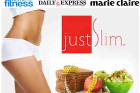 justSlim - JustSlim Personalised Online Weight Loss Plan as seen in Daily Express, Marie Claire, Bella - Save 57%