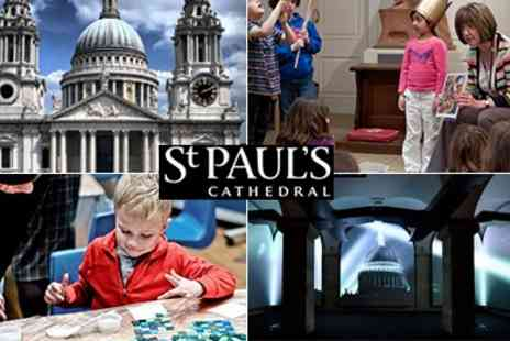 St. Pauls Cathedral - St Pauls Cathedral Family Easter Explorer Tour and Mosaic Workshop - Save 63%