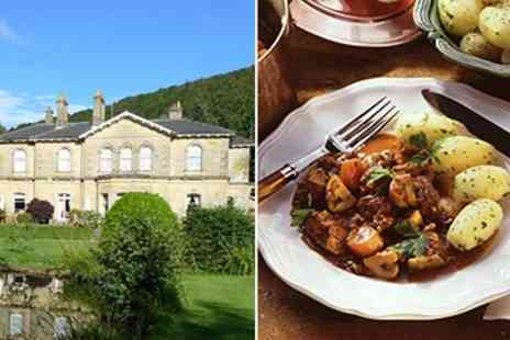 Hackness Grange Hotel - 3 Course Dinner for 2 - Save 52%