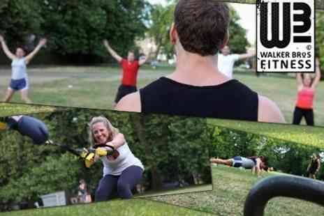 Walker Bros Fitness - Ten Indoor or Outdoor Boot Camp Sessions in Choice of Location - Save 50%