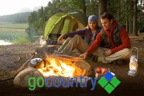 Go Country - One Night Camping Trip With Canoe and Equipment Hire For Two - Save 56%