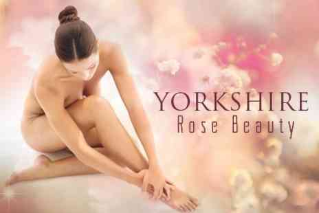 Yorkshire Rose Beauty - Six IPL Hair Removal Sessions For Choice of Area - Save 86%