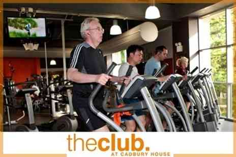 The Club and Spa at Cadbury House - One Month Gym Membership With Personal Training Session Plus Access to Fitness Classes - Save 81%
