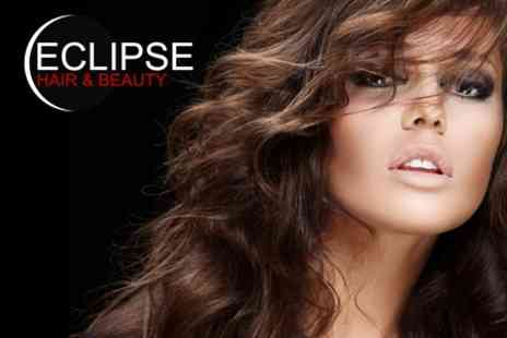 Eclipse Hair and Beauty - Half Head of Highlights, Cut and Blow Dry With MUK Hair Treatment Plus Manicure - Save 50%