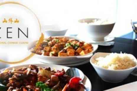 Zen Harbourside - Contemporary Chinese Cuisine For Two - Save 55%