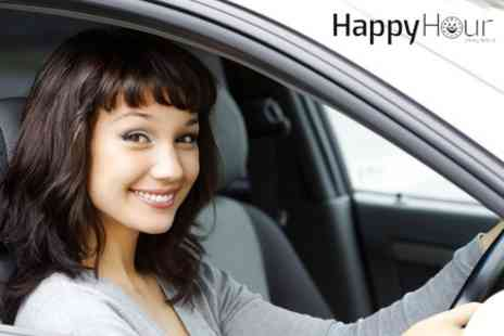 Happy Hour Driving School - Three Driving Lessons - Save 69%