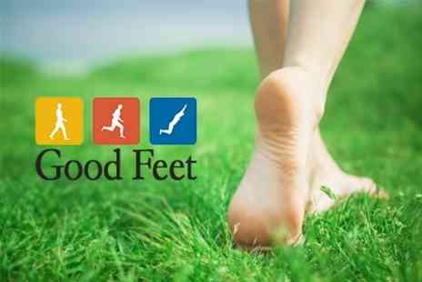Good Feet Manchester - Podiatry and Digital Pressure Plate Analysis With Foot Moisturising Treatment - Save 81%