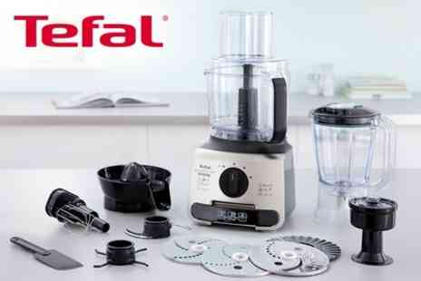 mahahome.com - Tefal Vitacompact Food Processor or Hapto Metal Hand Blender - Save 53%