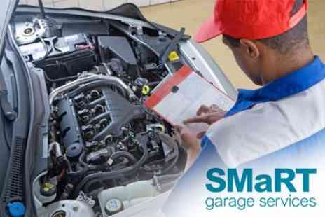 SMaRT Garage Services - Car Air Conditioning Service and Vehicle Safety Check Plus Mini Valet - Save 61%