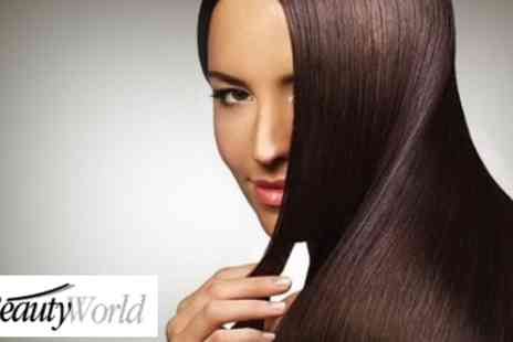 Beauty World - Treat Your Hair to this Hair Liss Keratin Treatment Pack - Save 55%