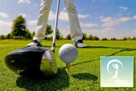 EMGA Golf Professional - PGA Professional Golf Tuition: One-Hour Lesson Plus Video Analysis - Save 63%