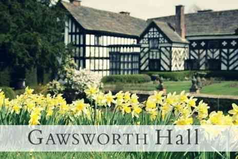 Gawsworth Hall - Tudor Manor and Gardens Entry For Two Adults - Save 60%