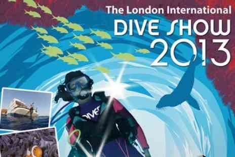 The Dive Show - London International Dive Show Tickets - Save 47%
