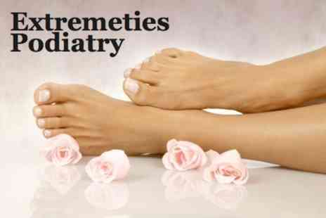 Extremities - Aromatherapy Sea Salt Foot Soak Podiatry Package for £15 - Save 63%