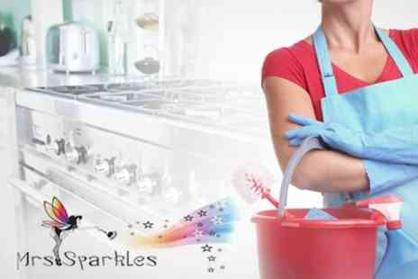 Mrs Sparkles Cleaning Services - Kitchen Deep Clean Incl. Oven, Fridge, Hob - Save 68%