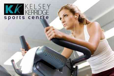 Kelsey Kerridge Sports Centre - Ten Fitness Classes or Gym Sessions To Mix and Match, Plus Racquet Court Hire For One - Save 85%
