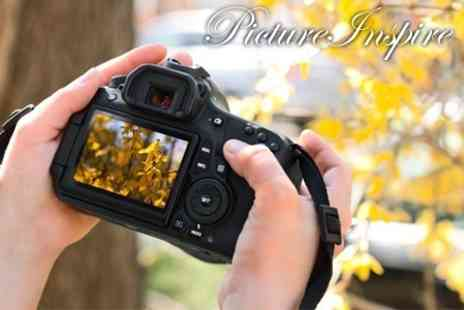 Picture Inspire - One Day Photography Class With Live Model Photoshoot - Save 83%