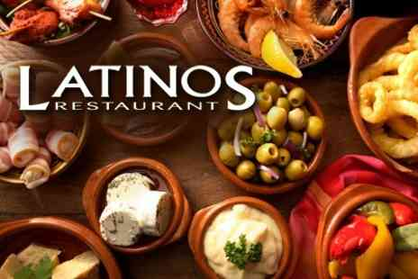 Latinos Restaurant - Two Course Mediterranean Dinner For Two - Save 50%