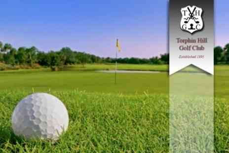 Torphin Hill Golf Club - Day of Golf For Two With Soup, Roll and Hot Drink Each - Save 76%
