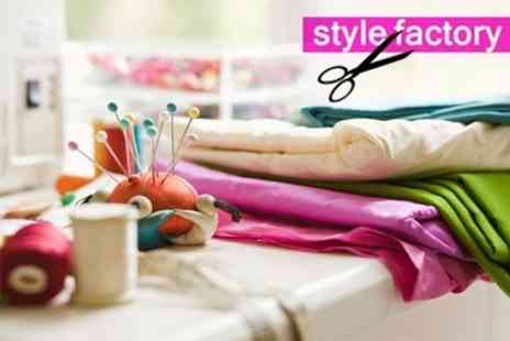 The Style Factory - Five Hour Introduction to Dressmaking Workshop - Save 69%