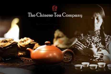 The Chinese Tea Company - Chinese Tea Tasting For Two With Snacks - Save 62%