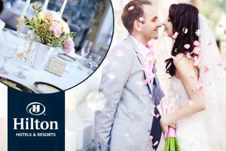 Hilton Swindon - Wedding Package Including Three Course Meal, Buffet, Bar Tab and Overnight Stay - Save 51%