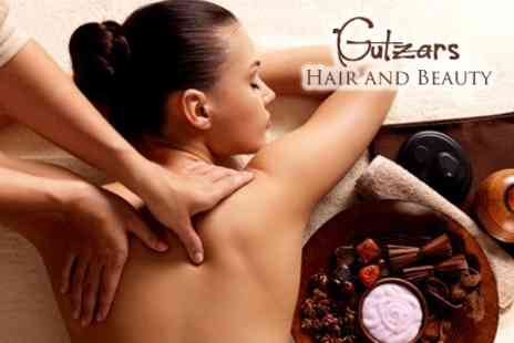 Gulzars Hair and Beauty - 90 Minute Full Body Massage - Save 62%