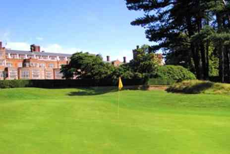 Selsdon Park and Golf Club - PGA Tour Golf Course 18 Holes for 2 - Save 61%