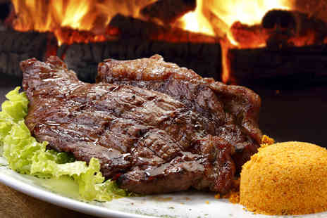 Zicos Grill Bar - All you can eat Brazilian rodizio meal for 2 - Save 50%