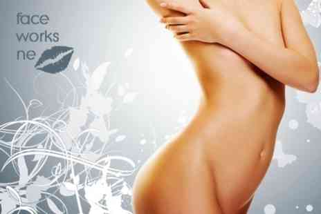 Faceworks NE - Laser Lipolysis Three Sessions - Save 61%