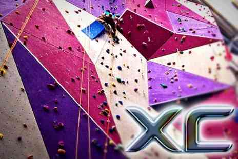 XC - Climbing Taster Sessions - Save 52%