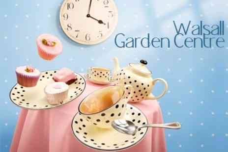 Walsall Garden Centre - Afternoon Tea For Two - Save 63%
