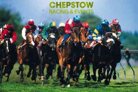 Chepstow Racecourse - Premier Race Day For One - Save 44%