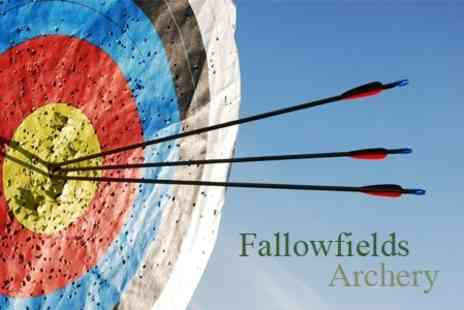 Fallowfields Archery - Two Hour Introduction to Archery - Save 80%